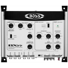 1 Boss Audio Systems BX55 Crossover- A 2/3 Vie Front/Rear / Subwoofer für Auto