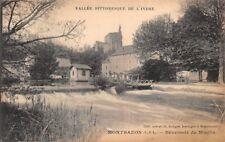 MONTBAZON, déversoir du Moulin