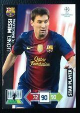 PANINI ADRENALYN CHAMPIONS LEAGUE 2012/13. STAR PLAYER LIONEL MESSI BARCELONA