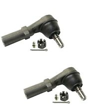 Pair Set of 2 Outer Steering Tie Rod Ends Moog for Dodge Charger Challenger