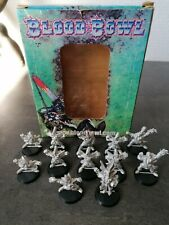 Blood Bowl Equipe Complète Hauts-Elfes / High Elf team + Star Player BloodBowl