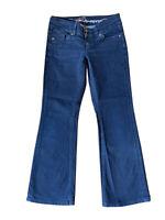 edc by ESPRIT Damen Hose Jeans Jeanshose Stretch Slim Fit Blau W29 L30