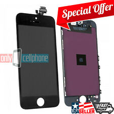Black OEM LCD Display Touch Screen Digitizer Assembly Repair Part for iPhone 5