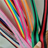 2yds Striped Trims Colored Knitted Ribbons High Elastic Tape Strench Band Craft