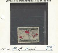 1898 Mint Canada F+ Scott #85 2c Imperial Penny Stamp MH Full Gum, Nice!!!