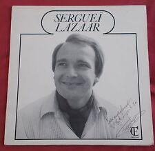 SERGUEI LAZAAR RARE  LP FR ORIG AUTOPRODUIT RUSSIAN SINGER