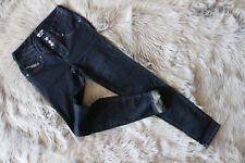 "New Bodycon Amethyst Women Jeans Dark Blue High Waist Skinny W27""_L31"""