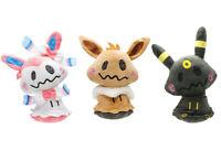 Pokemon Center Umbreon Eevee and Sylveon Cosplay Mimikyu Stuffed Doll Plush Toy