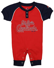 "Majestic MLB Infant St. Louis Cardinals ""Game Time"" Coverall"