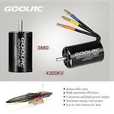 Genuine GoolRC 3660 4300KV 4 Poles Brushless Sensorless Motor for RC Boat H6L8