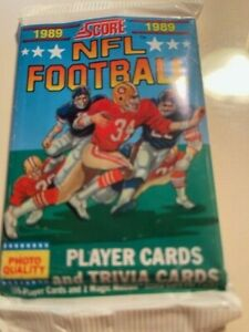 1989 Score Football Pack  -  Barry and Troy + tons of stars