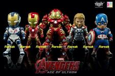 Kids Logic 2015 Marvel Avengers Age of Ultron LED earphone Plug 5 Mini Figure 5p