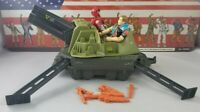 Original 1987 GI JOE SLAM not Complete w/ 2 Figures UNBROKEN ARAH Cobra Cannon