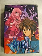 Rare Spiral Box Set Volume 1, 2, and 3 with 6 Total DVDs Funimation Aniplex