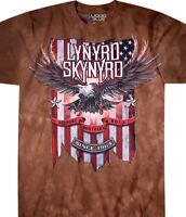 LYNYRD SKYNYRD-THE LAST REBEL-TIE DYE TSHIRT M-L-XL-XXL3X-4X,5X,6X ROCK,Van Zant