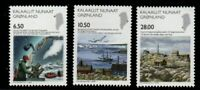 Greenland Sc 524-526 2008 Science stamp set mint NH