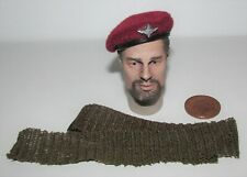 """Dragon in Dreams (DiD) 1/6th Scale WW2/WWII British Para Beret & Scarf """"Charlie"""""""