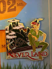 Disney Wdw Love Is An Adventure Go The Distance Neverland Peter Pan Pin Le 1100
