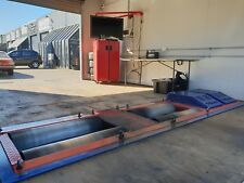 DYNO DYNAMICS 2400HP TWIN RETARDER CHASSIS DYNO WITH CUSTOM BUILT TEST CELL