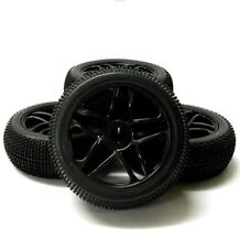 Neumáticos, llantas y bujes HSP para vehículos de radiocontrol 1:8
