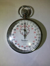 Used Tested Vintage Hanhart Timer Stopwatch 1/10 Second 3 Jewels Germany Working