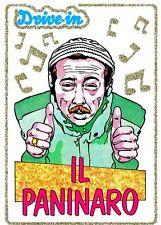 FIGURINA DRIVE IN n.83 FININVEST '85 ENZO BRASCHI ED. PANINI ANNI 80 (PANINARO)