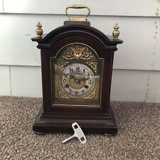 New ListingAntique Junghans German Mahogany Time & Strike Bracket Mantel Shelf Clock c.1900