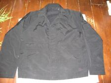 MENS DKNY BLACK JACKET SIZE XL LONG SLEEVES, FULL ZIP, LINED, 4 POCKETS