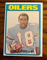 1972 Topps #244 Charlie Joiner RC - Oilers HOF