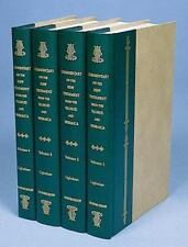 A Commentary on the New Testament from the Talmud and Hebraica, 4 volume set