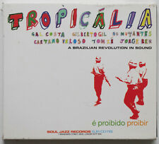 Tropicalia CD Various Artists 2006 Brazilian Revolution In Sound SJR CD118