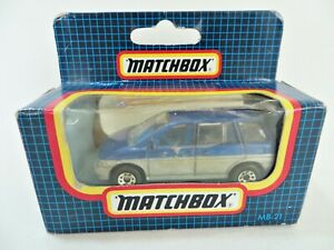 MATCHBOX MB21 'NISSAN PRAIRIE'. SILVER/BLUE. 21. MIB/BOXED.