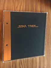 1992 Star Trek Book - Paramount Pictures - Kaiser Communications - Super Rare