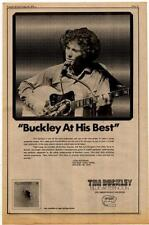 Tim Buckley 'At His Best' Blue Afternoon LP Straight Records Zappa advert 1970