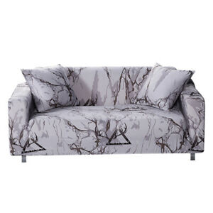 1/2/3/4 Seater Stretch Sofa Covers Chair Couch Cover Elastic Slipcover Protector