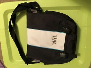 NINTENDO Wii Bag Backpack Carry Case For Consoles & Remotes With Strap