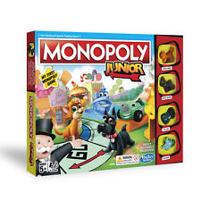 Monopoly Junior Board Game 2018 Version NEW
