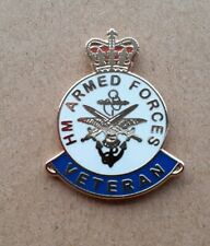 H M ARMED FORCES PIN BADGE GREAT LOOKING