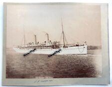 GRANDE PHOTO bateau croisière S. S NORMAN ZIMBABWE BULAWAYO MATTOPOS B325