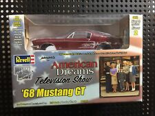 AMT PRO SHOP 1968 American Dreams FORD MUSTANG FASTBACK 1/25 - Red & White C