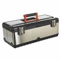 Sealey AP580S Stainless Steel Toolbox 580mm with Tote Tray