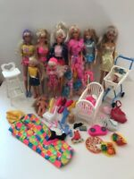 Vintage Barbie Doll Bundle & Accessories, Shelly Cot, Baby Dil, 1990's