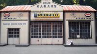 Garage Peugeot 1/43°