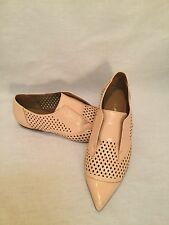 3.1 Phillip Lim - Patent Pink Perforated Oxford Flat - Size 7-GREAT CONDITION!