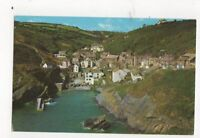 Village & Harbour Portloe Old Postcard 604a