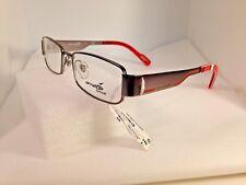e4f719482b ARNETTE 6016 Eyeglasses Frames 50-16-140 Silver Red Store Model