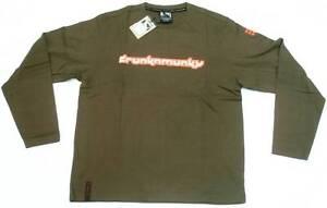 Authentic I Polyester Pack Drunknmunky DRUNKN MUNKY Logo Dj Clubwear T-Shirt XL