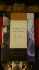 David Foster Wallace~Everything and More~First Edition 1st Print HCDJ