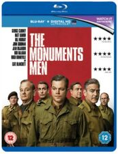 The Monuments Men (Region B & A) Blu Ray *NEW & SEALED*