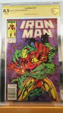 Iron Man #237 CBCS 8.5 Signed Bob Layton Comic CSCC
